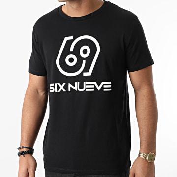 L'Allemand - Tee Shirt Six Nueve Noir