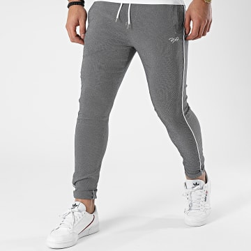 Project X - Pantalon Jogging 1940013 Gris Chiné