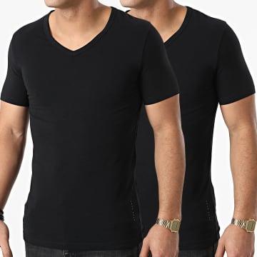 BOSS - Lot De 2 Tee Shirts Col V 50325408 Noir