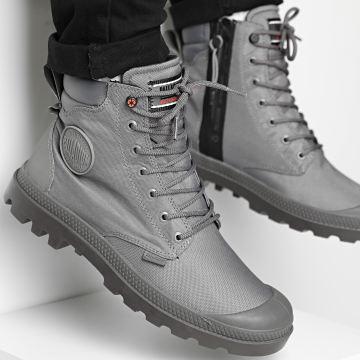 Palladium - Boots Pampa Recycle Waterproof 76869 Smoked Pearl