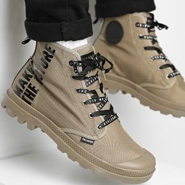 Palladium - Boots Pampa Hi Future 76885 Dusky Green