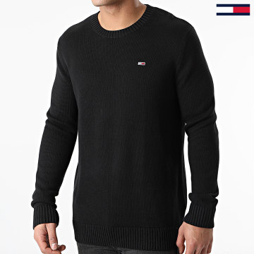 Tommy Jeans - Pull Essential 8801 Noir