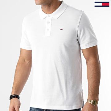 Tommy Jeans - Polo Manches Courtes Original Fine Pique 4266 Blanc