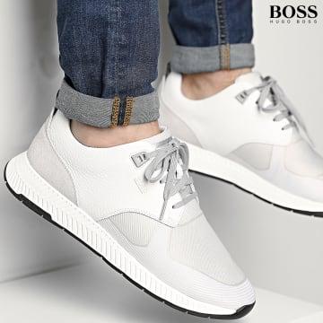 BOSS - Baskets Titanium Runner 50446667 Open White