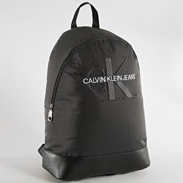 Calvin Klein - Sac A Dos Monogram Nylon 4733 Gris Anthracite