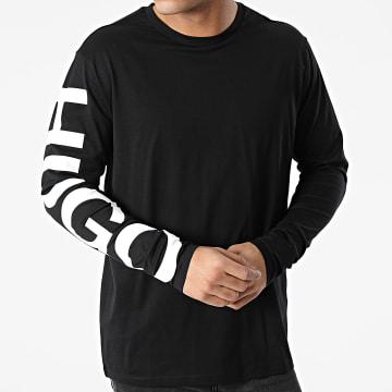 HUGO - Tee Shirt Manches Longues Demeos 211 50458238 Noir