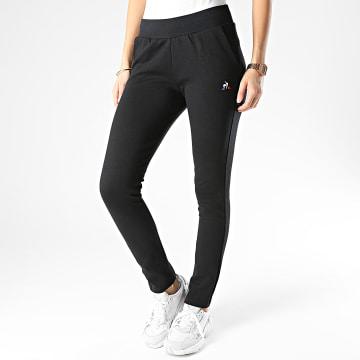 Le Coq Sportif - Pantalon Jogging Slim Femme Essential N1 1921198 Noir