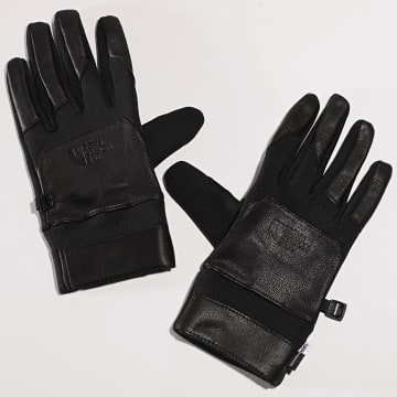 The North Face - Gants Etip Leather Noir