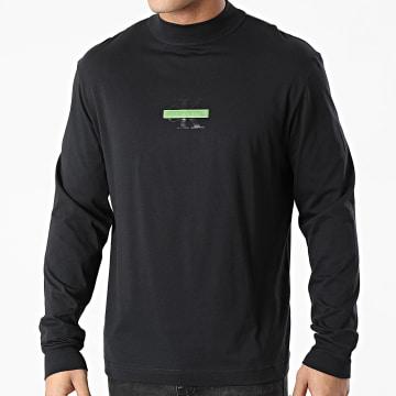 Calvin Klein - Tee Shirt Manches Longues 8487 Noir