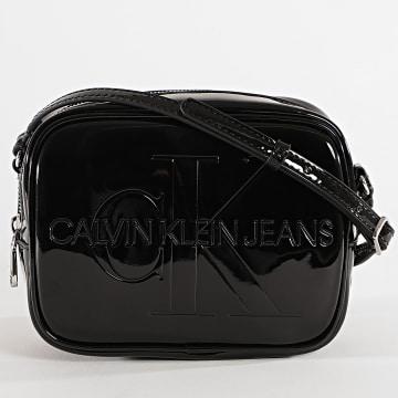 Calvin Klein - Sac A Main Femme Camera Bag Patent 7623 Noir