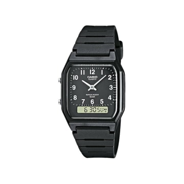 Casio - Montre Collection AW-48H-1BVEG Noir