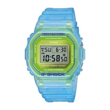 Casio - Montre G-Shock DW-5600LS-2ER Translucide Bleu