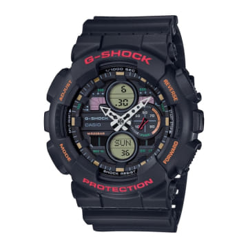 Casio - Montre G-Shock GA-140-1A4ER Noir