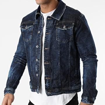 Uniplay - Veste En Jean 390 Bleu Denim