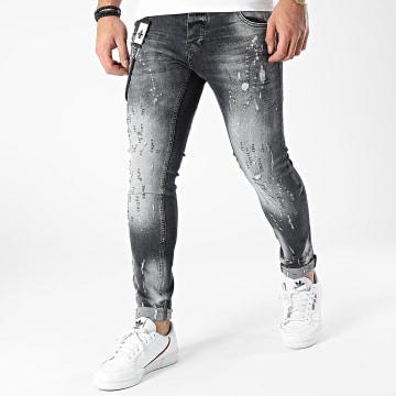 Uniplay - Jean Skinny 415 Gris Anthracite
