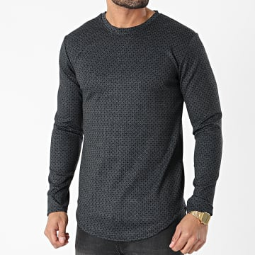 Frilivin - Tee Shirt Manches Longues 15101 Noir