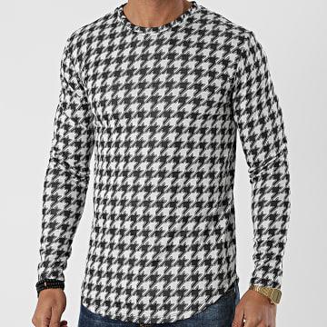 Frilivin - Tee Shirt Manches Longues 15105 Blanc
