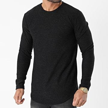 Frilivin - Tee Shirt Manches Longues 15096 Noir