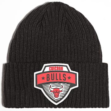 New Era - Bonnet NBA 20 Tip Off Knit Chicago Bulls Noir