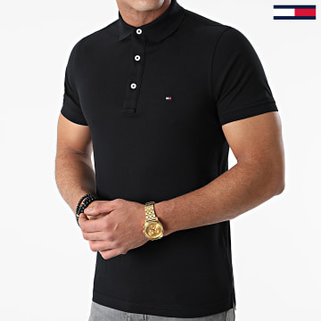 Tommy Hilfiger - Polo Manches Courtes Core Tommy 4975 Noir