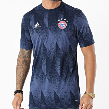 Adidas Performance - Tee Shirt De Sport FC Bayern Munich Preshi FR6070 Bleu Marine