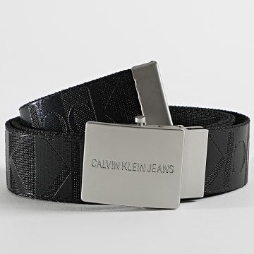 Calvin Klein - Ceinture Canvas Plaque 5333 Noir