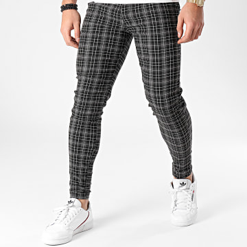 Frilivin - Pantalon Carreaux 1835 Noir Gris