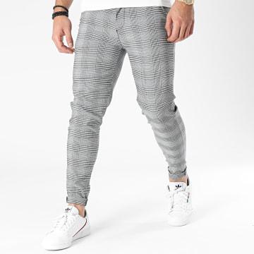 Frilivin - Pantalon Carreaux 1835 Noir Blanc