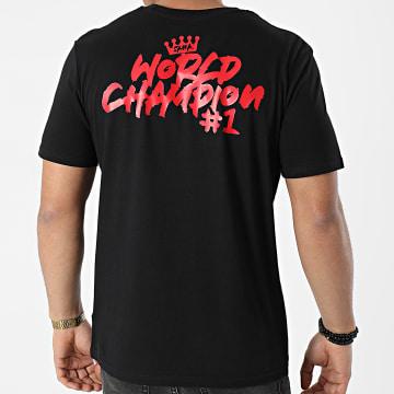 Samy Sana S47S - Tee Shirt World Champion Noir Rouge