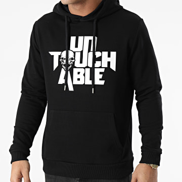 Untouchable - Sweat Capuche Logo Noir