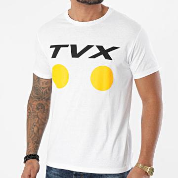 13 Block - Tee Shirt TVX002 Blanc