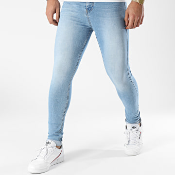 LBO - Jean Super Skinny Fit 1455 Denim Bleu Clair