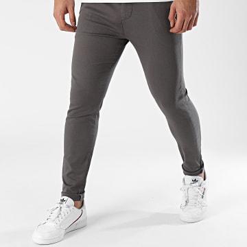 LBO - Pantalon Chino Skinny 1442 Gris