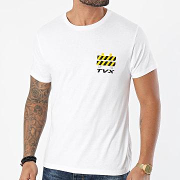 13 Block - Tee Shirt Travaux002 Blanc