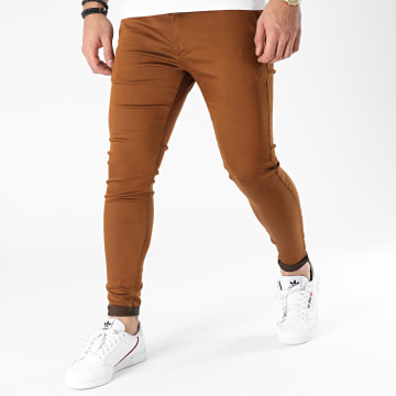 Zelys Paris - Pantalon Chino Ijazz Camel