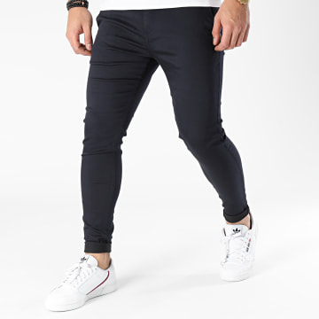 Zelys Paris - Pantalon Chino Ijazz Bleu Marine