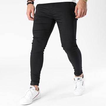 Zelys Paris - Pantalon Chino Ijazz Noir