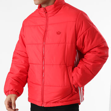 Adidas Originals - Doudoune Padded Stand Puffer GE1344 Rouge