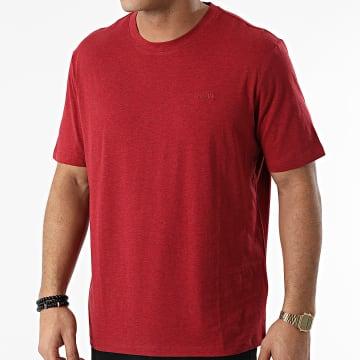 HUGO - Tee Shirt Dero 211 50442898 Rouge Chiné