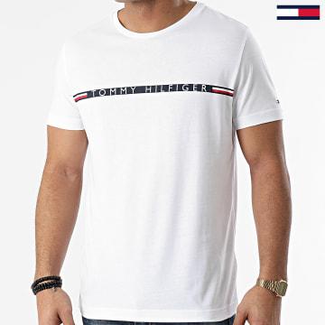 Tommy Hilfiger - Tee Shirt Mini Stripe 5319 Blanc