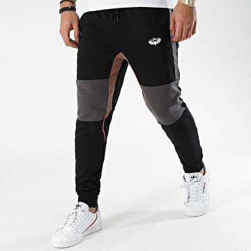 Charo - Pantalon Jogging Beamer WY4239 Noir