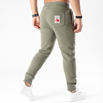 Compagnie de Californie - Pantalon Jogging Diego Vert Kaki
