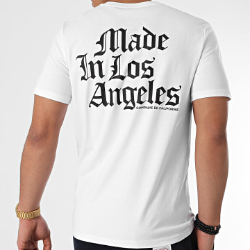 Compagnie de Californie - Tee Shirt Hollywood Made In Blanc