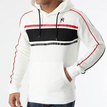 NI by Ninho - Sweat Capuche Diamond H019 Blanc