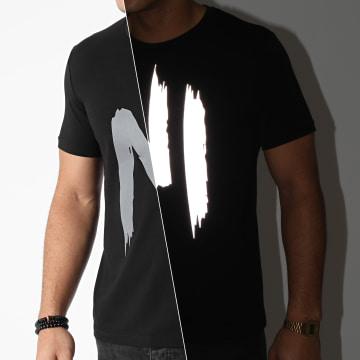 NI by Ninho - Tee Shirt Réfléchissant TS001 Noir