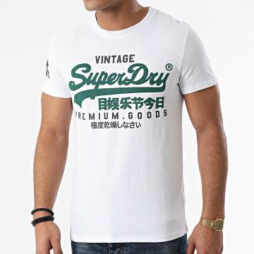 Superdry - Tee Shirt VL NS M1010411A Blanc