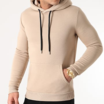LBO - Sweat Capuche 1368 Beige