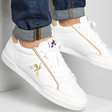 Le Coq Sportif - Baskets Tournament 2110004 Optical White Tan