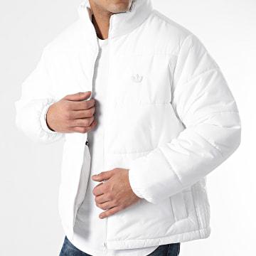 Adidas Originals - Doudoune Padded Stand GE1343 Blanc
