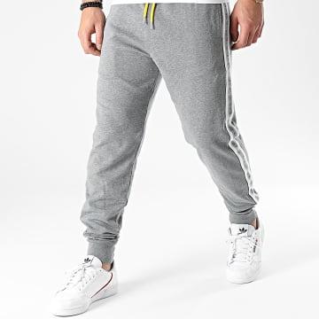 Diesel - Pantalon Jogging A Bandes Peter 00ST1N-0TAWI Gris Chiné